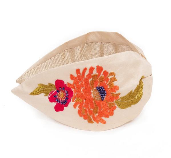 Powder - Embroidered Headband