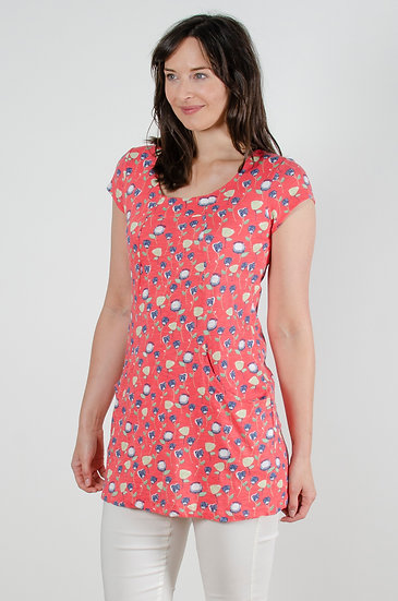Lily& Me - Tunic Tulips Pink