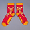 Thumbnail: Powder - Floral Deer Ankle Socks