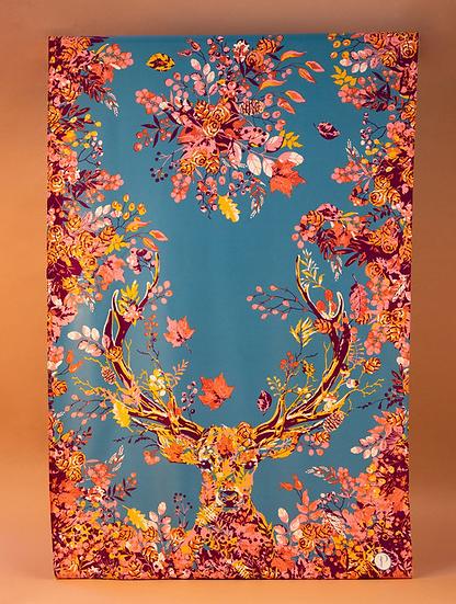 Powder - Woodland Stag Long Satin Print