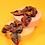 Thumbnail: Powder - Velvet Scrunchies (Pack of 2) Scandi Forest