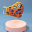 Thumbnail: Powder - Embroidered Face Covering - Leopard Coral