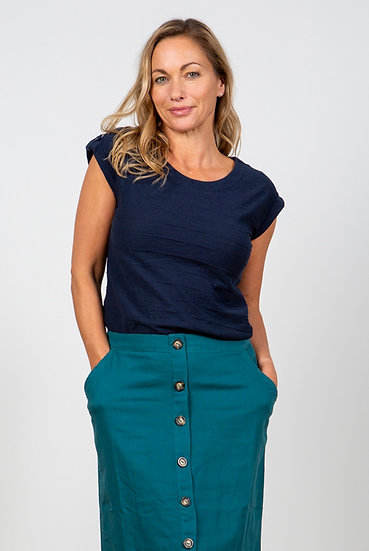 Lily & Me - Surfside Tee Navy