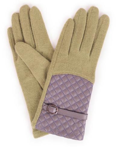 Powder - Lizzy Wool Gloves Pea Green
