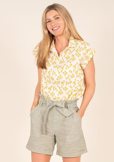 Brakeburn - Paperbag Waist Shorts
