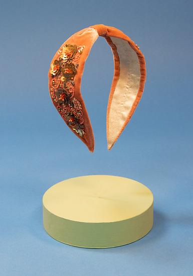 Powder - Velvet Embellished Headband