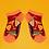 Thumbnail: Powder - Cocktails Trainer Socks