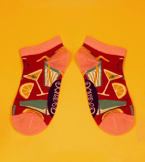 Powder - Cocktails Trainer Socks