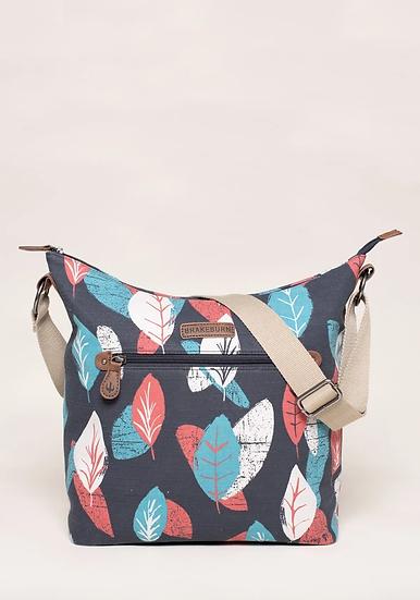 Brakeburn - Textured Leaf Hobo Bag