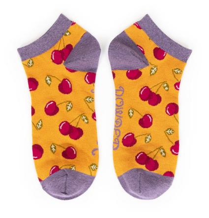 Powder - Cherries Trainer Socks