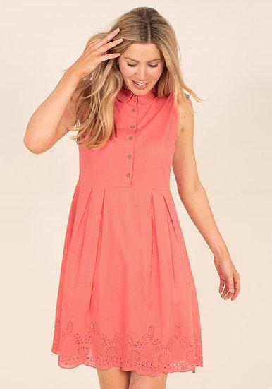 Brakeburn - Broderie Shirt Dress