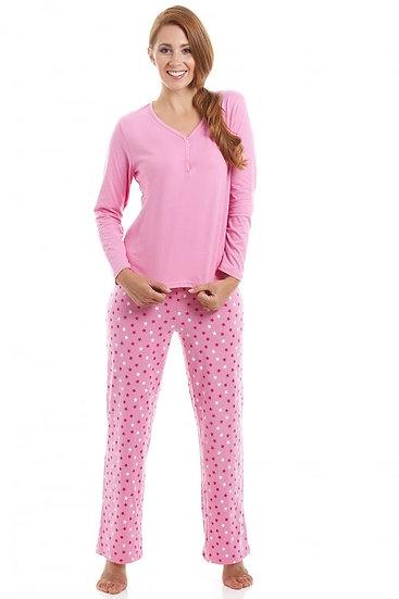 Camille - Star Print Full Length Pyjama Set