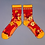Thumbnail: Powder - Floral Ankle Socks