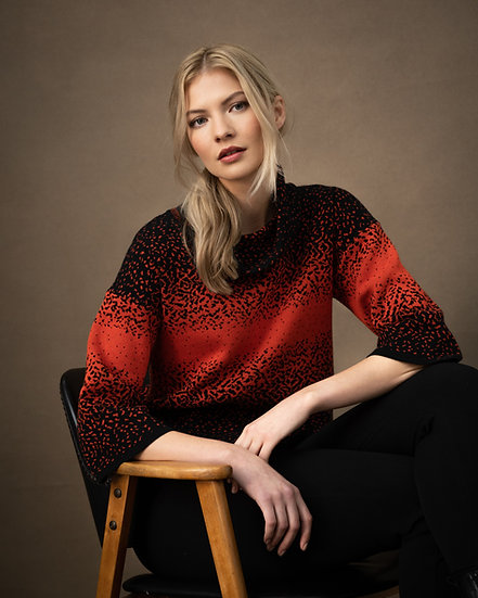 Marble Scotland - Red Sweater