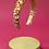Thumbnail: Powder - Padded Headband Velvet Pearl