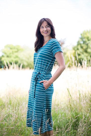 Lily & Me - Painterly Stripe Weekend Dress