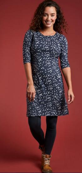 Weird Fish -Dark Navy Starshine Dress