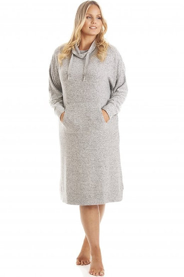 Camille - Grey Marl Comfy Fit Hacci Lounger