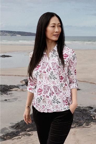 Seasalt - Larissa Shirt Ink Seaweed