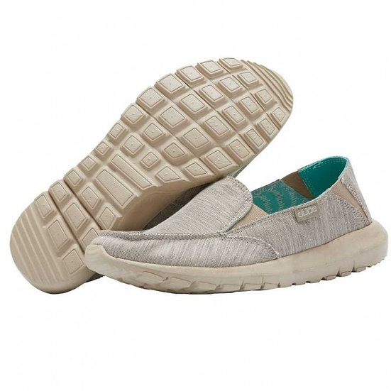 Hey Dude Shoes- Ava Chanbray Beige