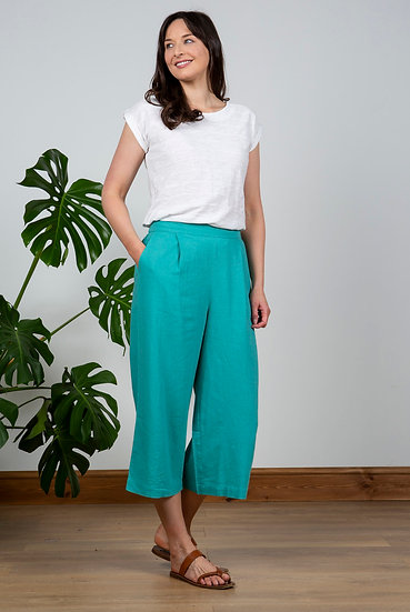 Lily & Me - Summer Trousers Turquoise