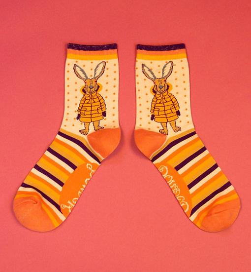 Powder - Puffa Jacket Bunny Ankle Socks