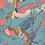 Thumbnail: Powder - Tropical Birds Print Scarf