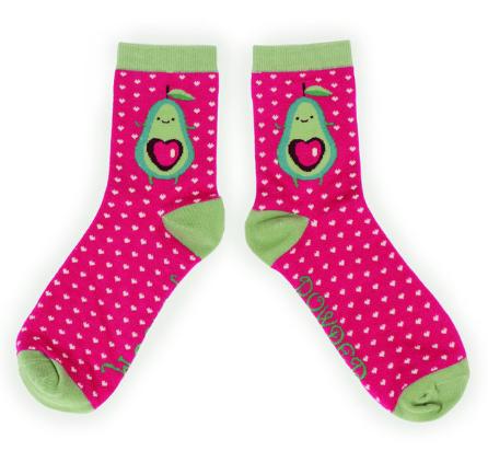 Powder - Avocado Ankle Socks