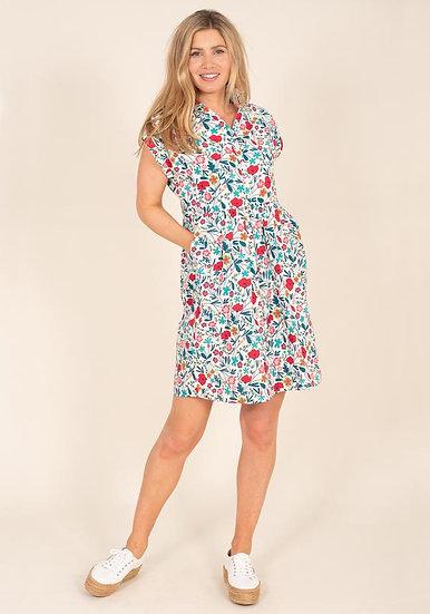 Brakeburn - Botanical Shirt Dress