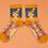 Thumbnail: Powder - Happy Birthday Sloth Ankle Socks