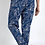 Thumbnail: Weird Fish -  Tinto Printed Viscose Trousers Ensign Blue