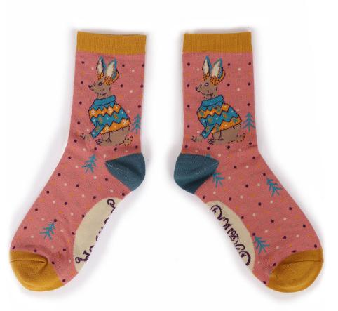 Powder - Jumper Hare Ankle Socks
