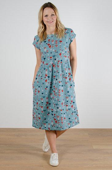 Lily & Me - Buttercup Dress Burdock Blossom
