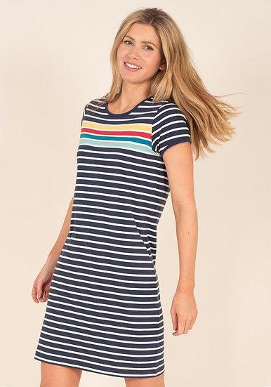 Brakeburn - Rainbow Stripe Dress