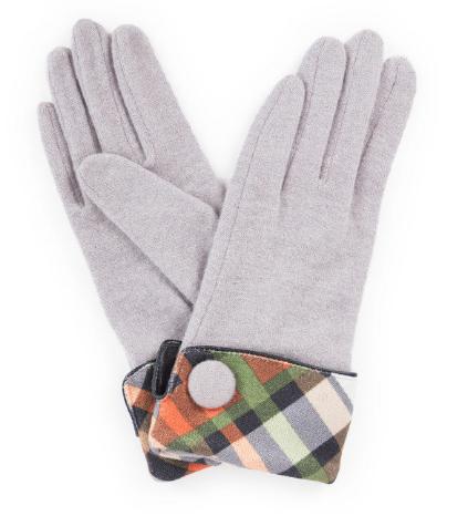 Powder - Heather Wool Gloves Slate