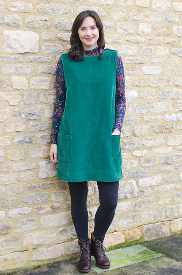 Lily & Me - Stevie Dress Pine Green