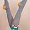 Thumbnail: Powder - Cocktail Pug Knee-high Socks