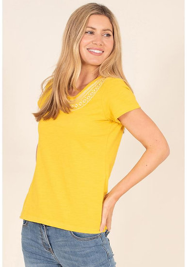 Brakeburn - Buttercup Embroidery Tee