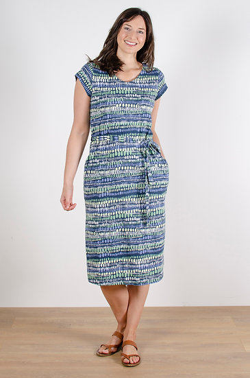 Lily & Me - Weekend Dress Stone Waves Navy