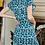 Thumbnail: Weird Fish -  Tallahassee Organic Cotton Printed Jersey Dress Bottle Green