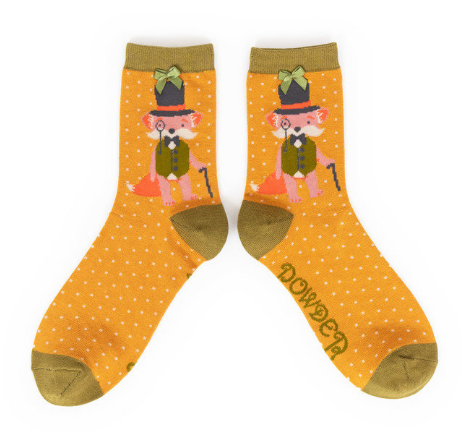 Powder - Gentleman Fox Ankle Socks