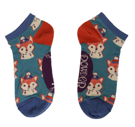 Powder - Foxy Trainer Socks