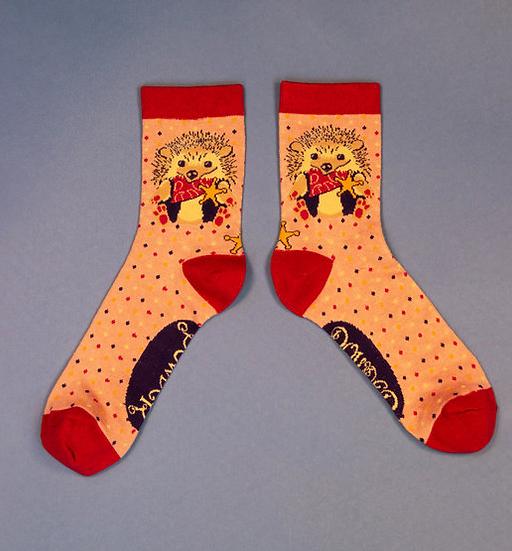 Powder - Western Hedgehog Ankle Socks