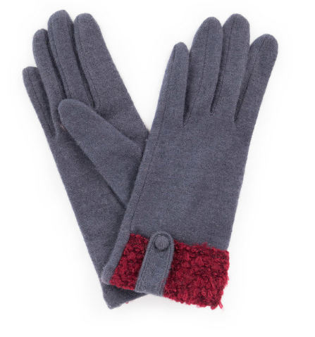 Powder - Monica Wool Gloves Charcoal