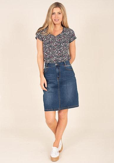 Brakeburn - Denim Skirt
