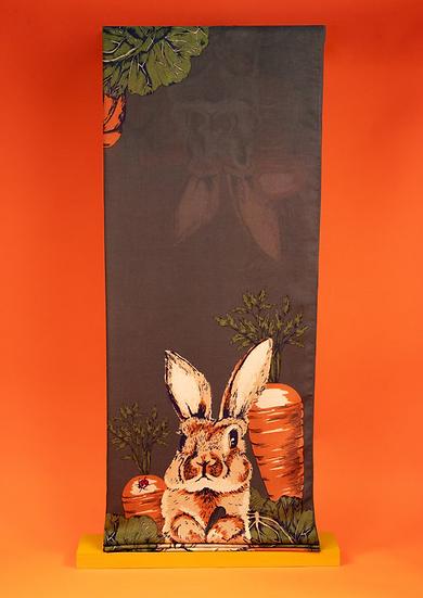 Powder - Gardening Bunny Print Scarf