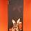 Thumbnail: Powder - Gardening Bunny Print Scarf