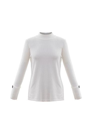 Marble Scotland - White Knit