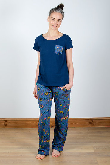 Lily & Me - Geo Floral Pyjama