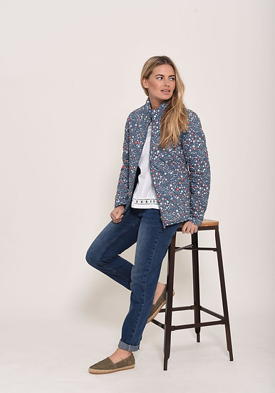 Brakeburn - Ditsy Quilted Jacket
